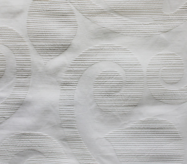 Winthrop White Fabric
