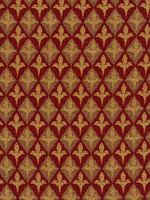 Harlequin Leaf Fabric - Lacquer