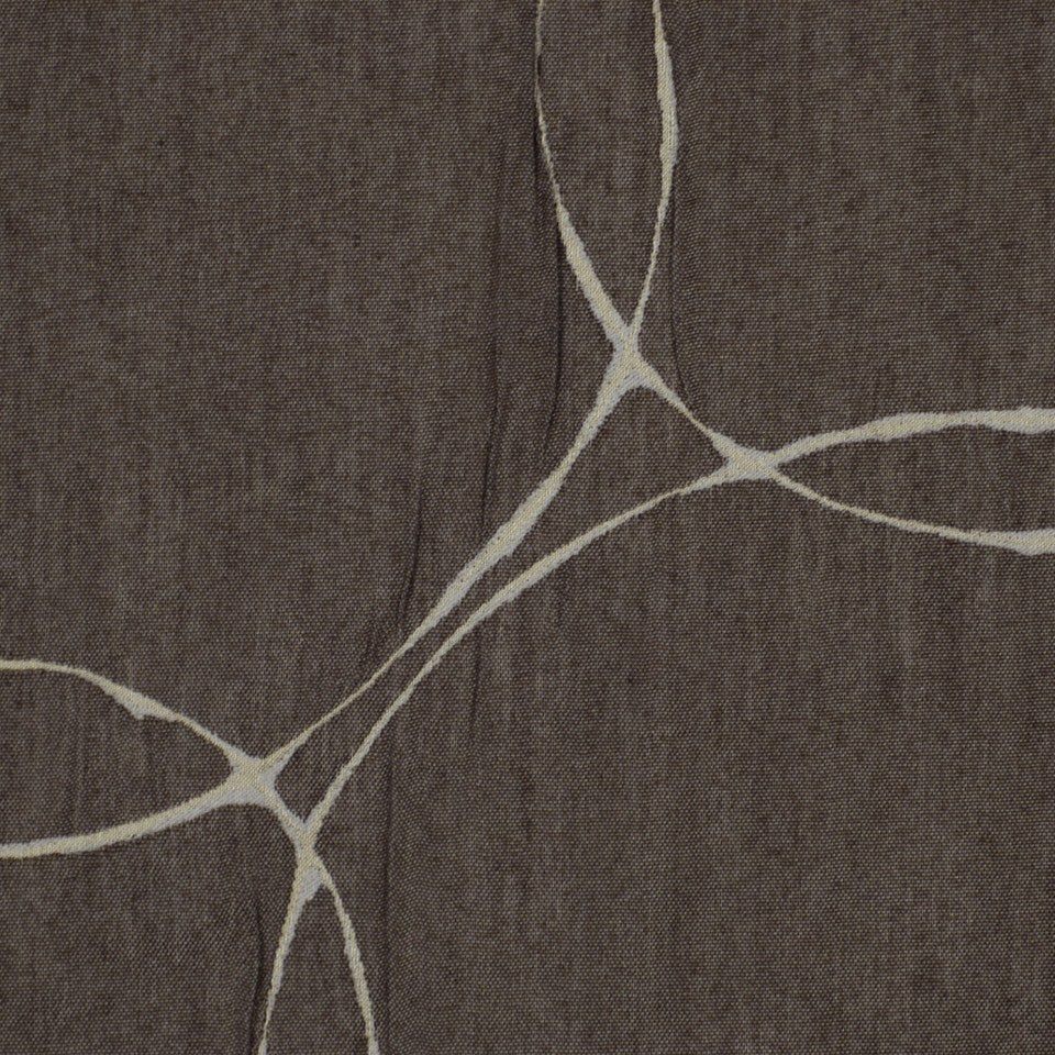 CONTEMPORARY WINDOW Gyroscope Fabric - Mink