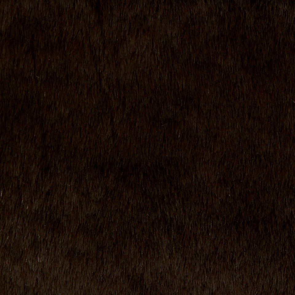 LAVISH FAUX FURS Fun Fur Fabric - Chocolat
