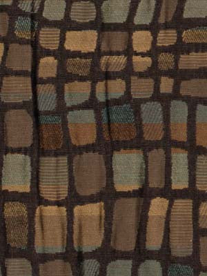 JUTE-BLACK-PLATINUM Rocky Top Fabric - Chestnut