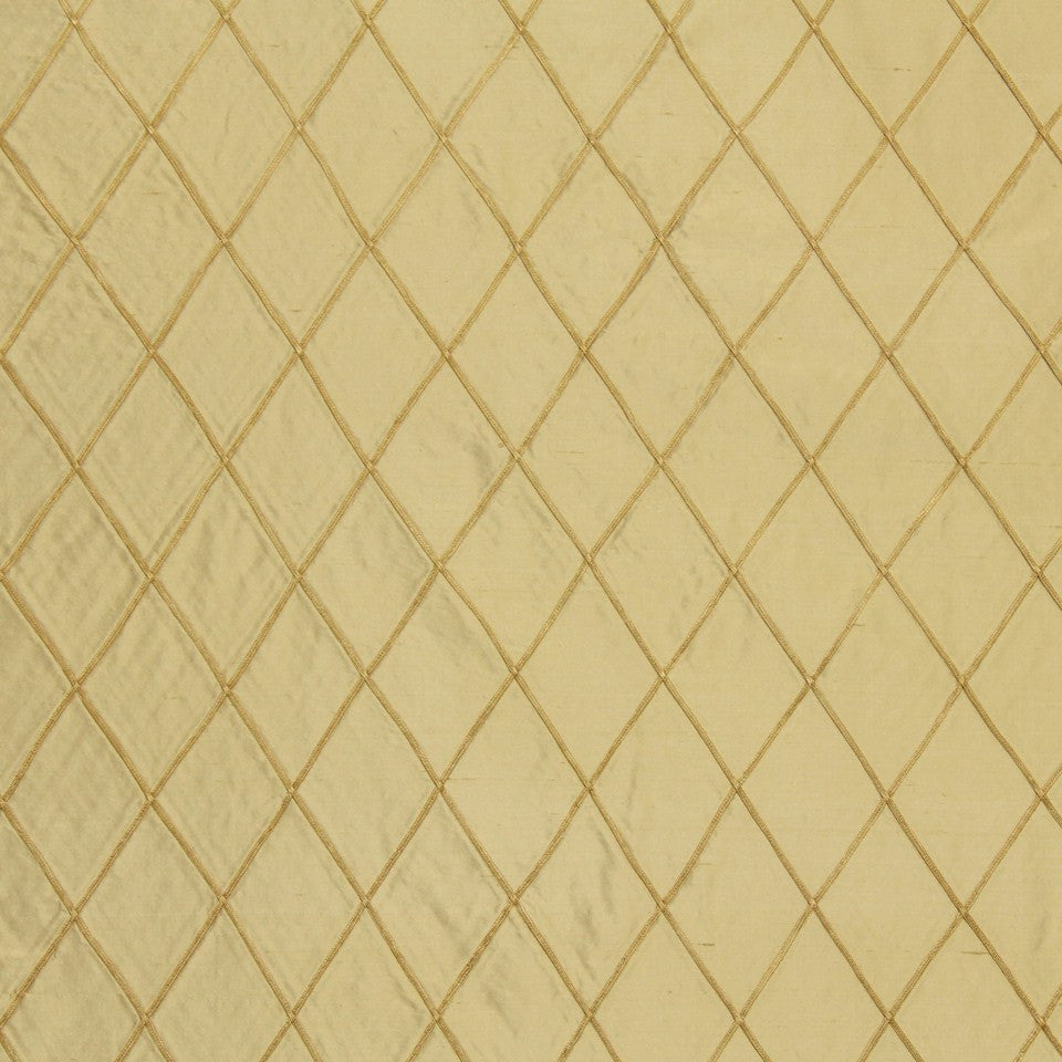 Diamond Cord Fabric - Wheat