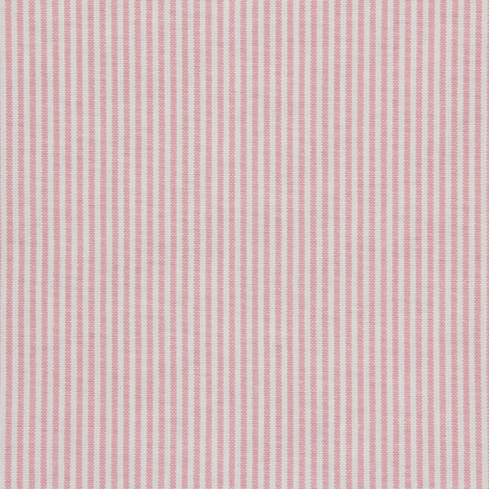 TICKING STRIPES Oxford Unquilt Fabric - Blossom