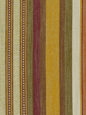 Oakvill Stripe Fabric - Cantalope