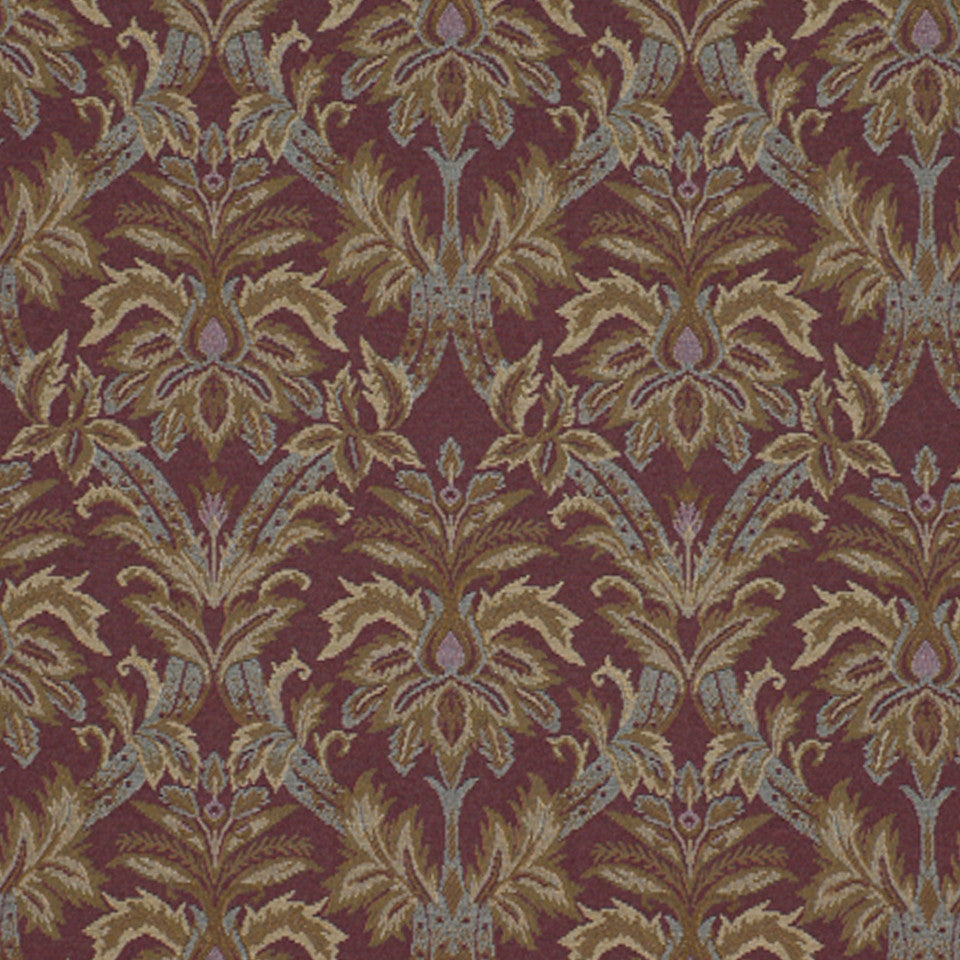 DRAWING ROOM UPH CONTRACT Belnord Fabric - Plum