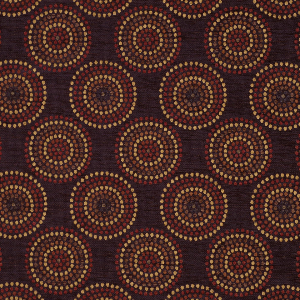 DRAWING ROOM UPH CONTRACT Macaria Fabric - Plum