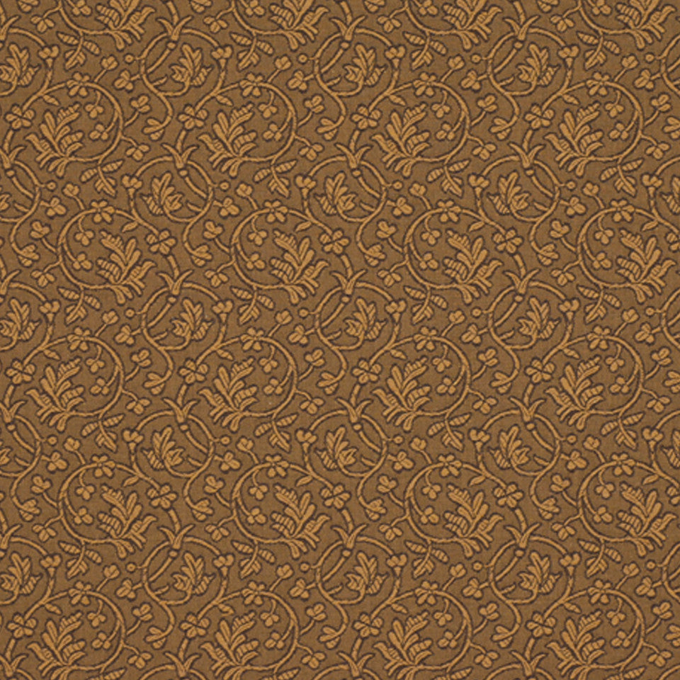 DRAWING ROOM UPH CONTRACT Edwina Fabric - Walnut