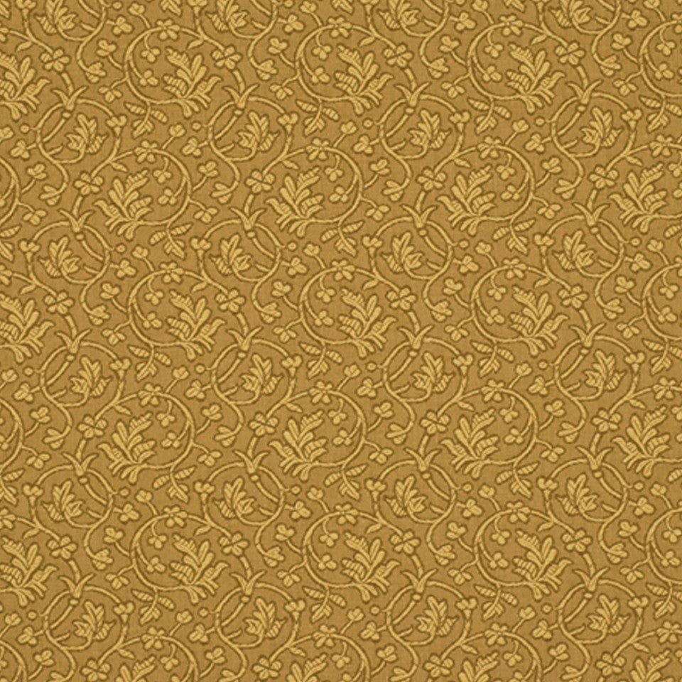DRAWING ROOM UPH CONTRACT Edwina Fabric - Butterscotch