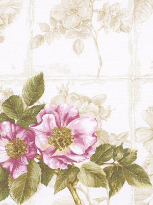 Rosa Canina Fabric - Berry