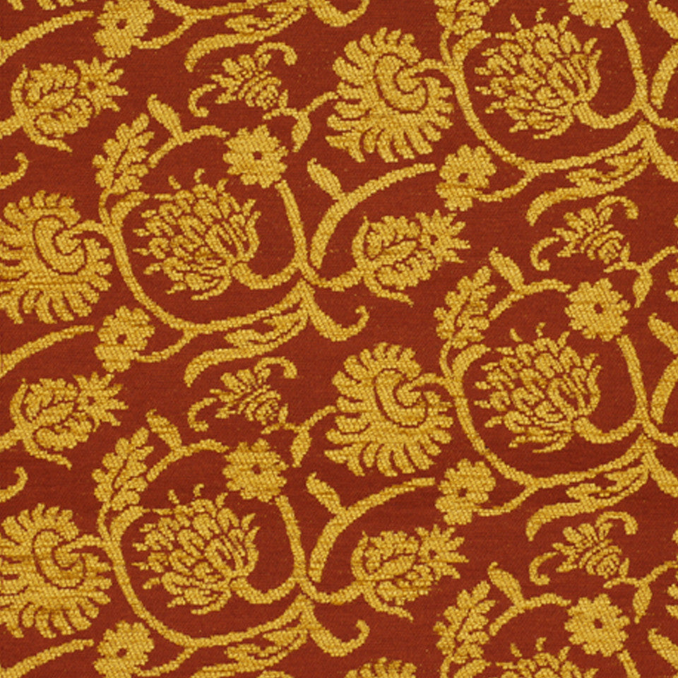DRAWING ROOM UPH CONTRACT Balfe Fabric - Golden Berry