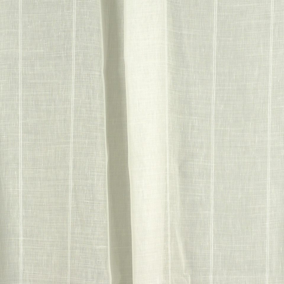 NATURAL SHEERS LIGHT NEUTRALS Curtain Call Fabric - Pearl