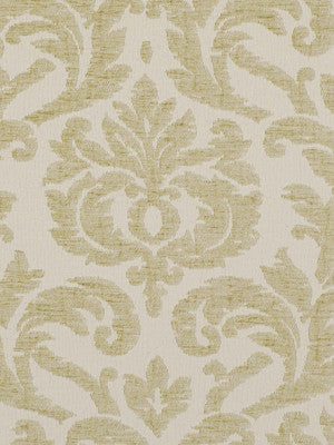 Oden Damask Fabric - Sand
