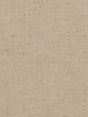 Tweed Chevron Fabric - Natural