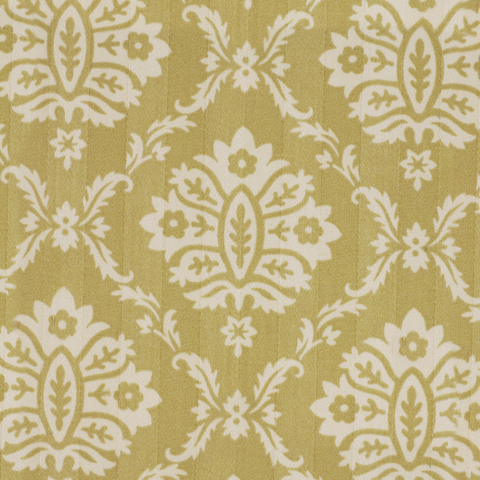 Isle Damask Fabric - Dune