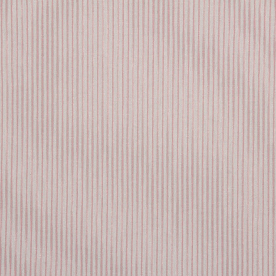 TICKING STRIPES Cottage Stripe Fabric - Candy