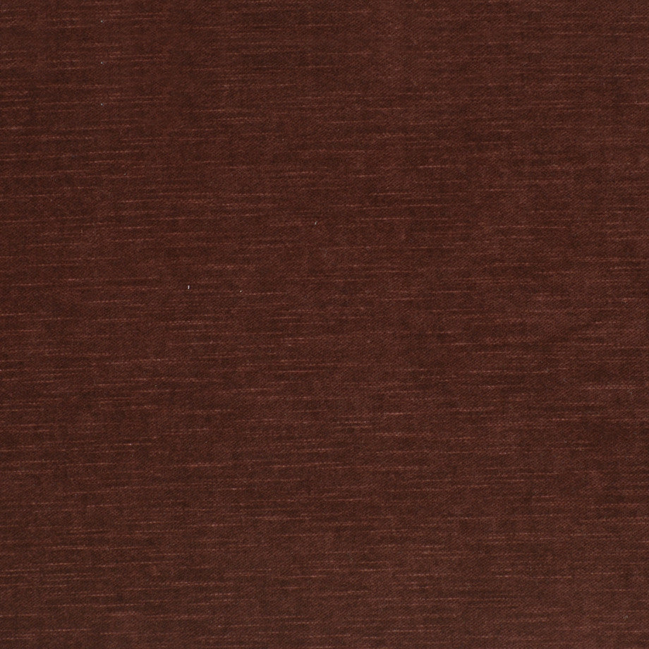 COTTON VELVETS Contentment Fabric - Mahogany