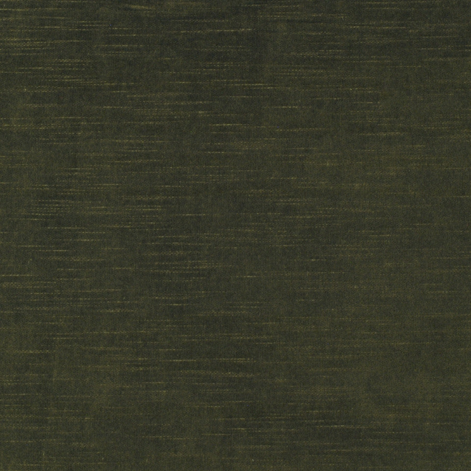 COTTON VELVETS Contentment Fabric - Loden