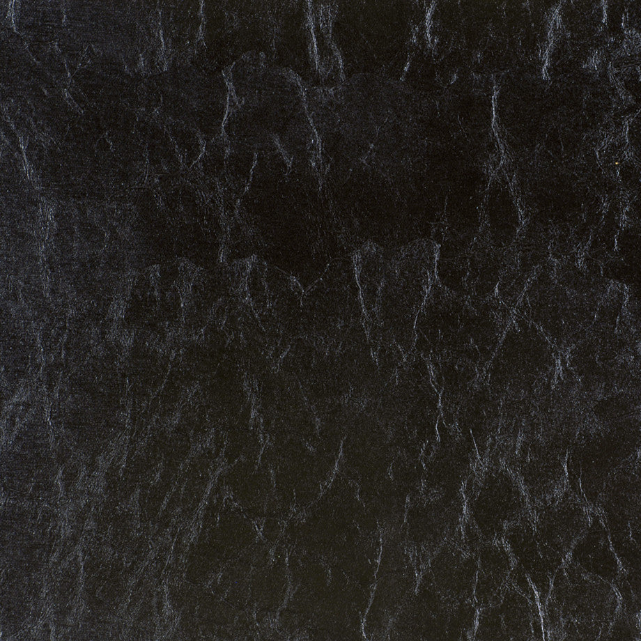 CORPORATE BINDER: PERFORMANCE/FINISHES DECORATIVE/UPH SOLIDS AND TEXTURES/ECO I Surrogate Fabric - Black Ice