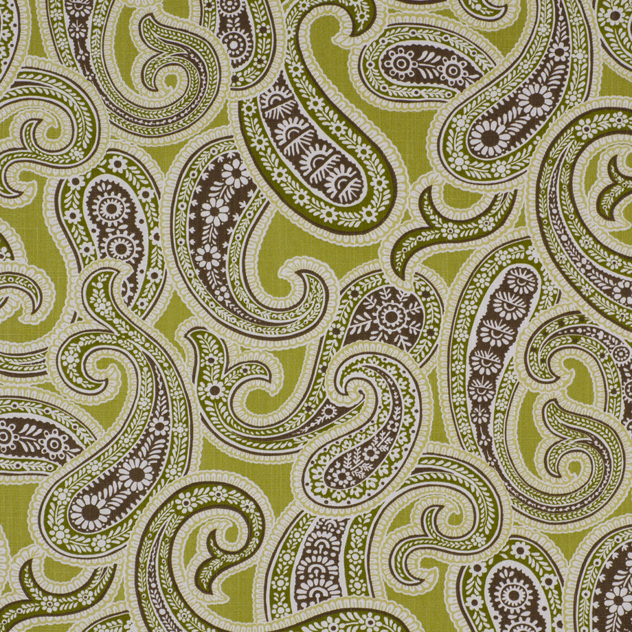 PRINTS Iridium Fabric - Fennel