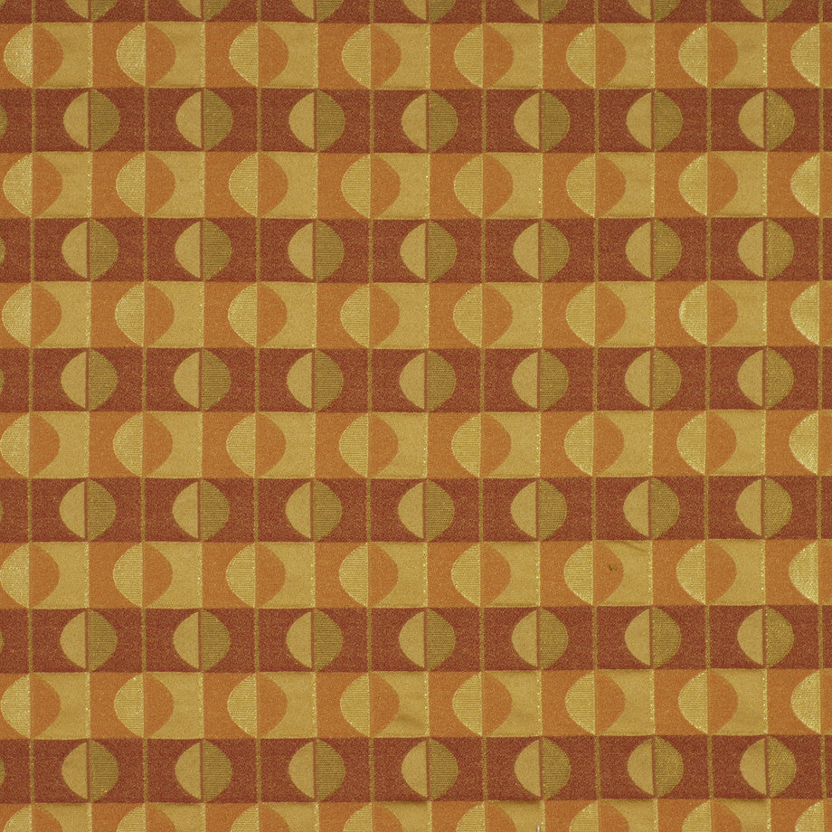 TEABERRY-SAFFRON-CHILI Spherical Fabric - Paprika