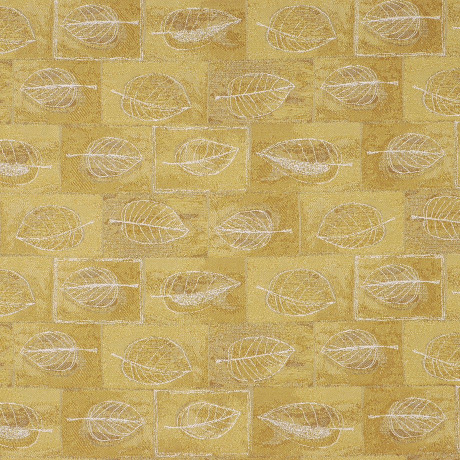 TEABERRY-SAFFRON-CHILI Greely Fabric - Golden