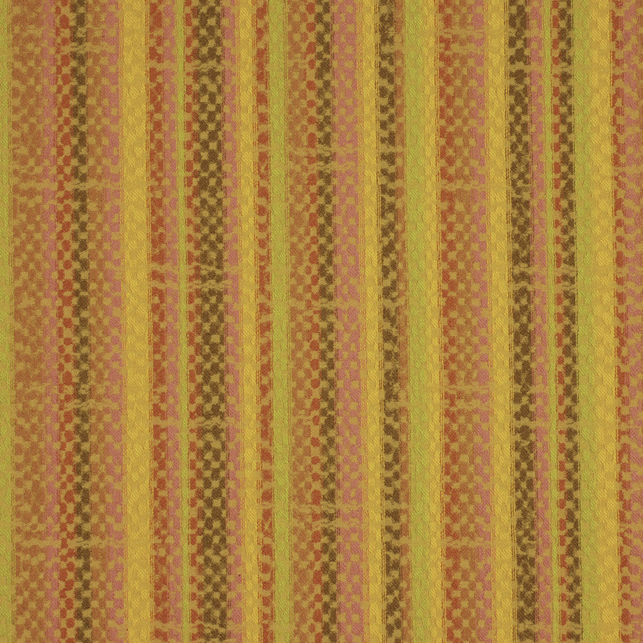 TEABERRY-SAFFRON-CHILI Frequency Fabric - Papaya
