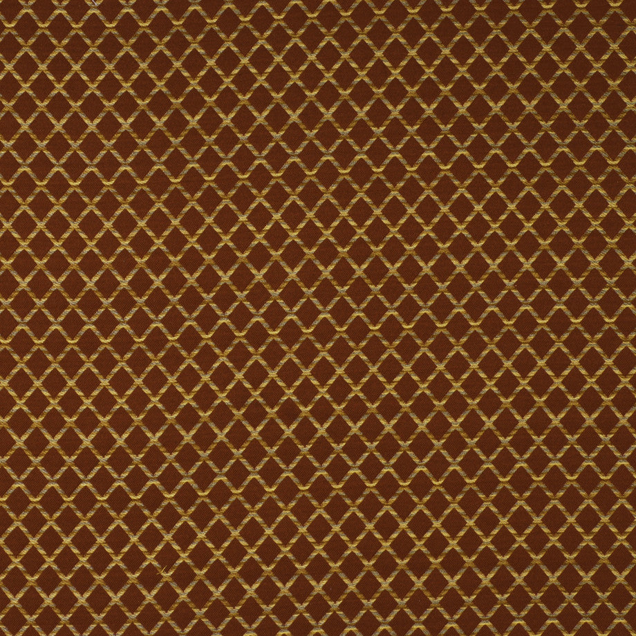 TEABERRY-SAFFRON-CHILI Massey Fabric - Paprika
