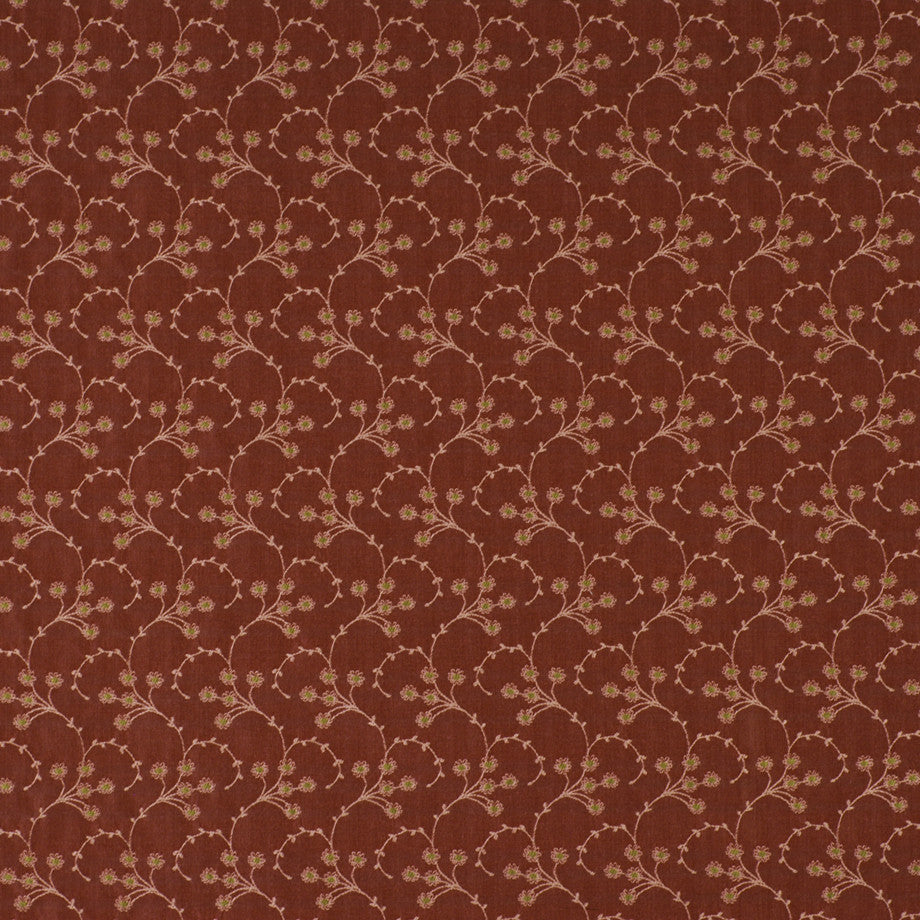 TEABERRY-SAFFRON-CHILI Leoti Fabric - Pompeii