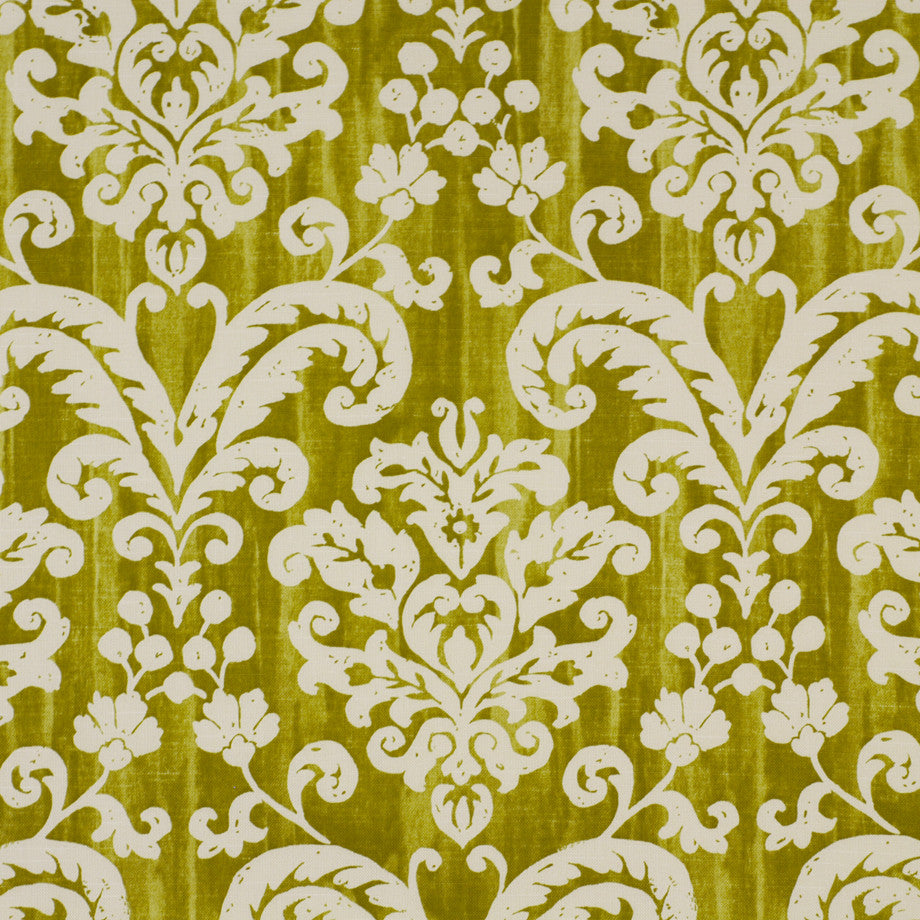 PRINTS Shadowdamsk CN Fabric - Fennel