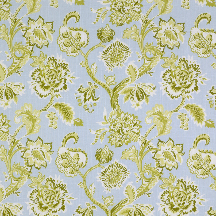 PRINTS Lenox Lounge Fabric - Ocean