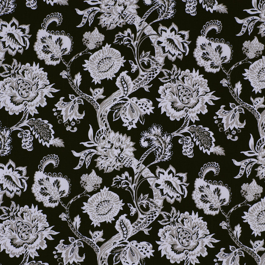PRINTS Lenox Lounge Fabric - Kohl