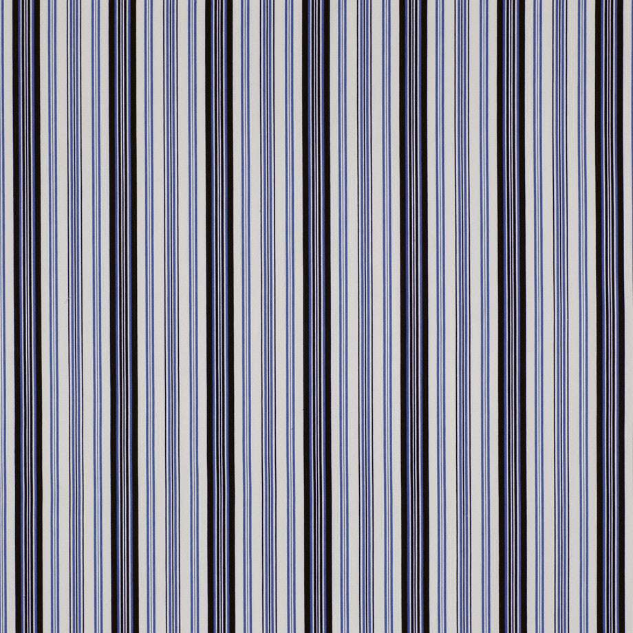PRINTS Skyline Fabric - Navy