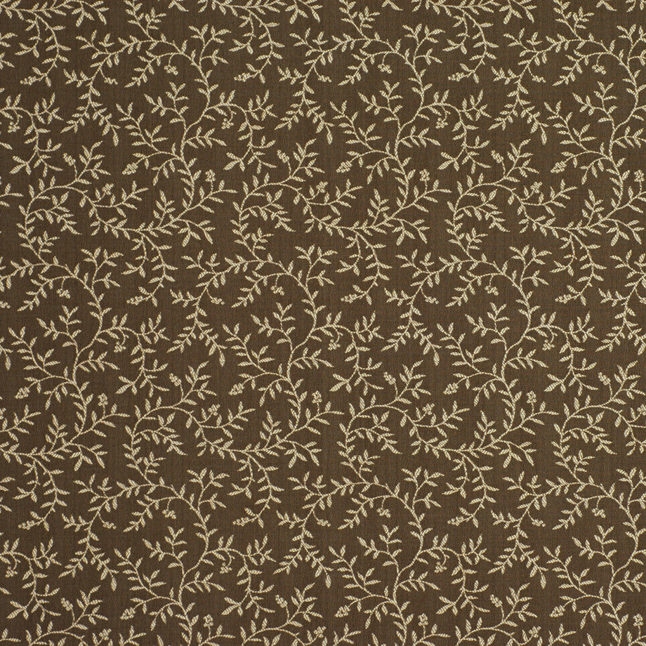 TRANSITIONS Clinging Vines Fabric - Golden Pecan