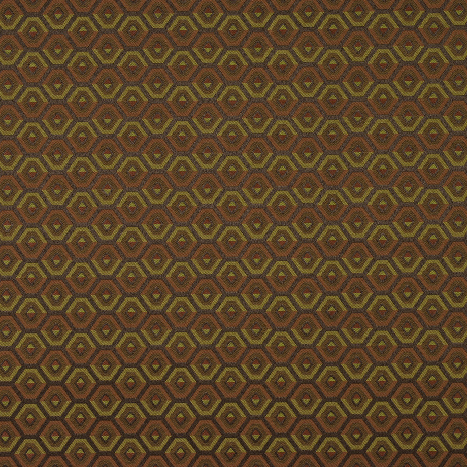 TRANSITIONS Atlantis Reef Fabric - Melon