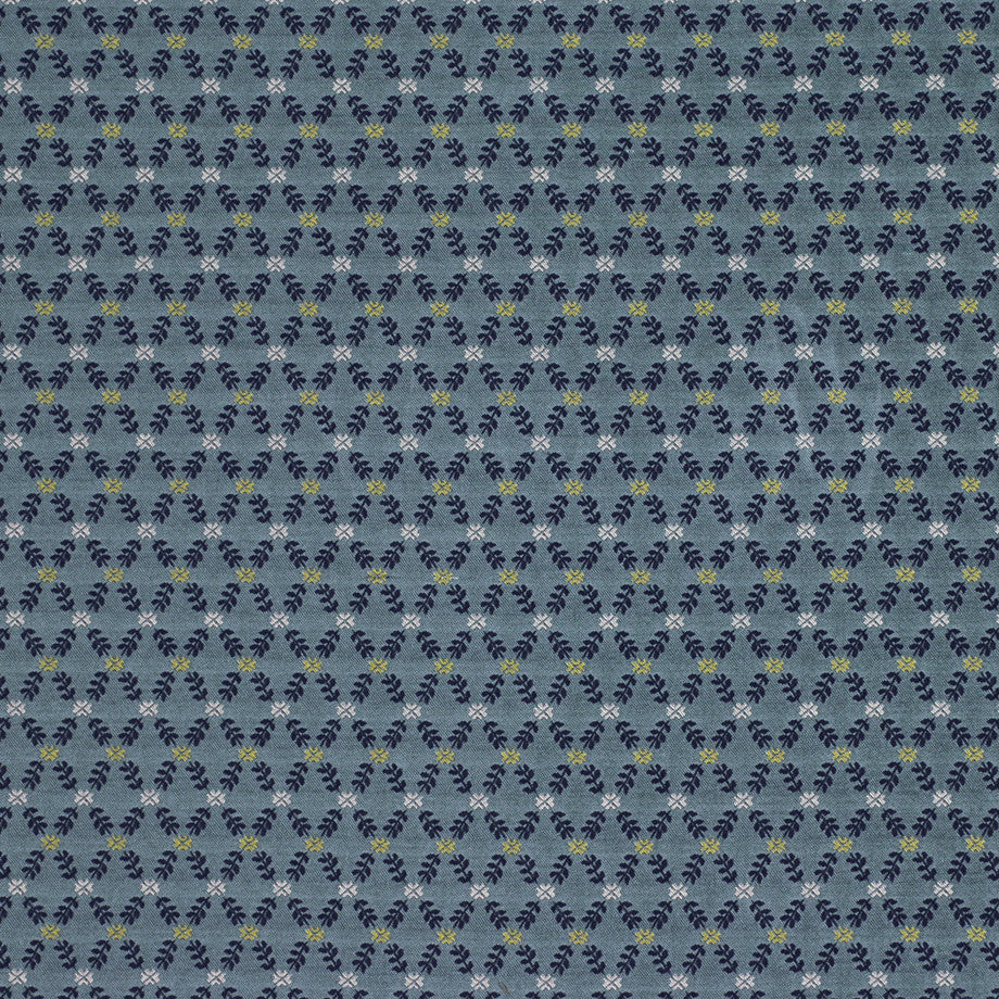 TRANSITIONS Lisbeth Floral Fabric - Lagoon