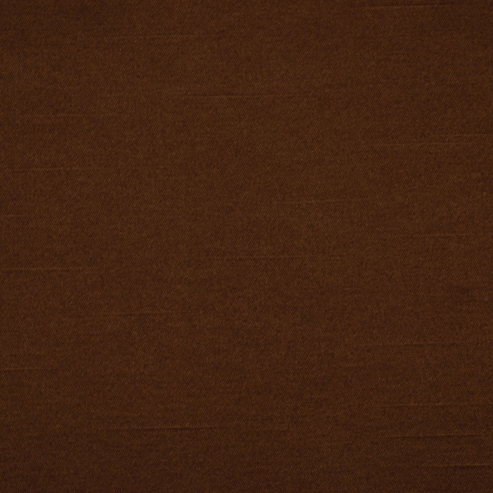 ELEGANT DRAPERY SOLIDS Satin Lustre Fabric - Chocolate