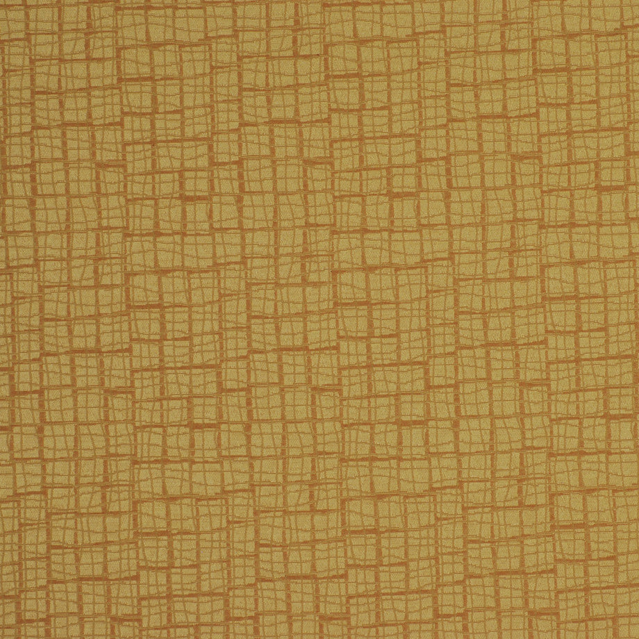 TRANSITIONS Grid Blocks Fabric - Butterscotch