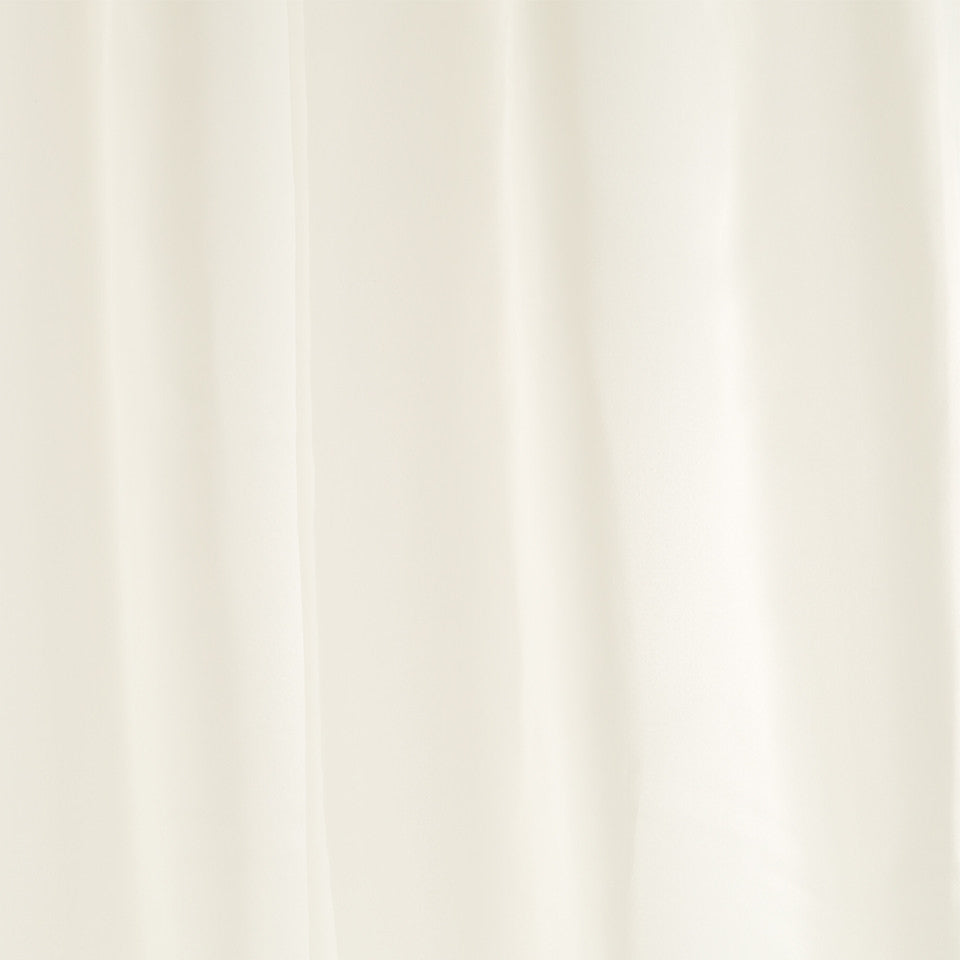 Lustrous Sheers Tinted Voile Fabric - Eggshell