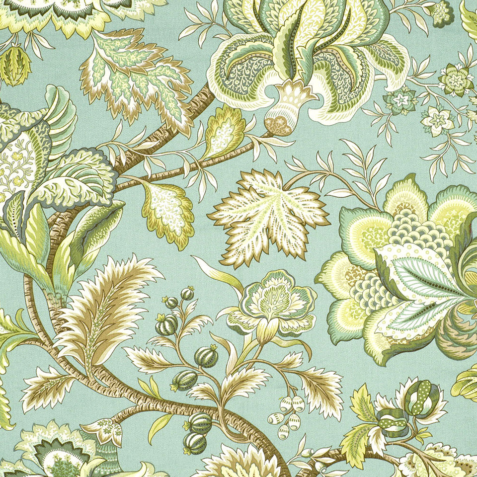 POINT JUDITH Summerlin Fabric - Seafoam