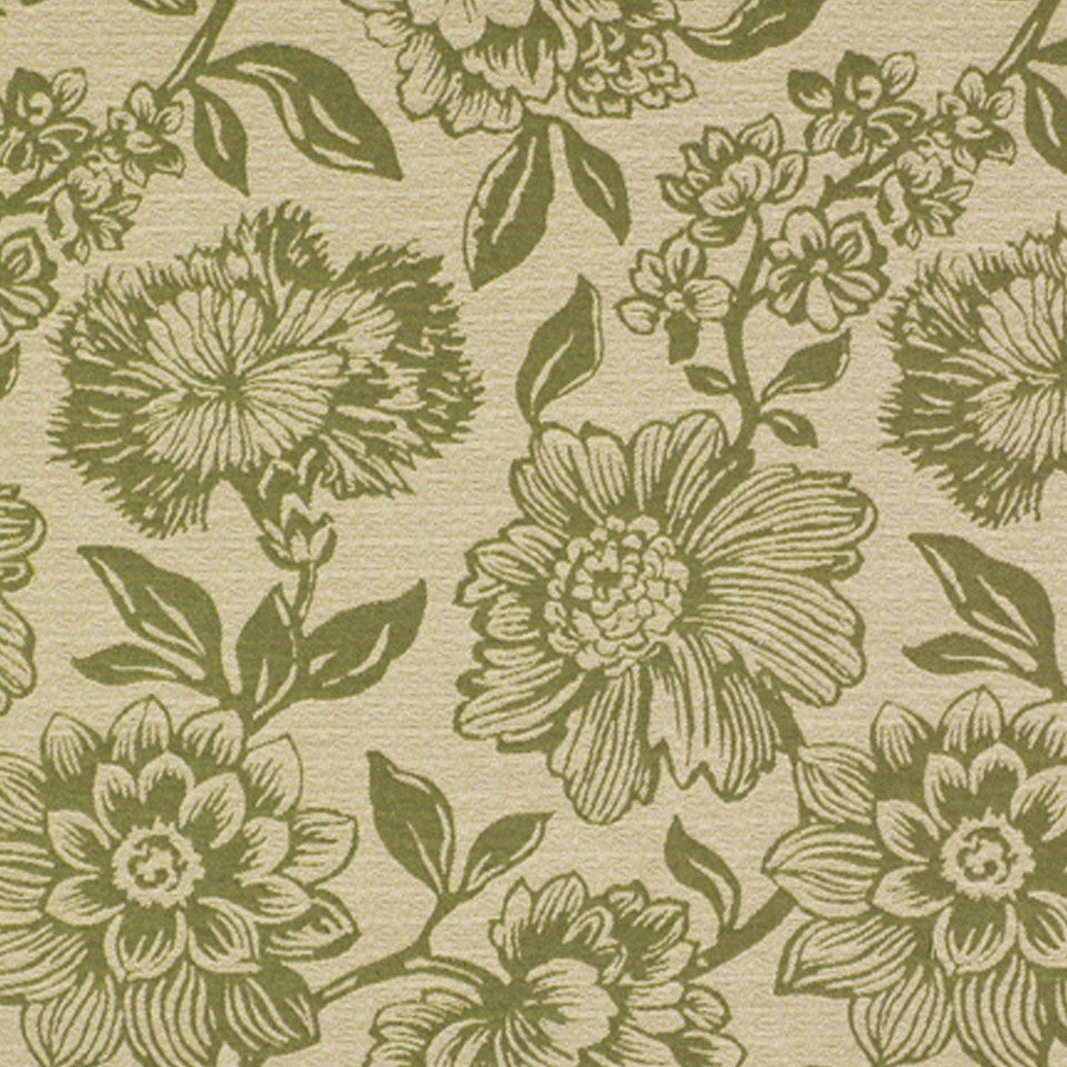 WOVENS Tropical Leaf Fabric - Kiwi