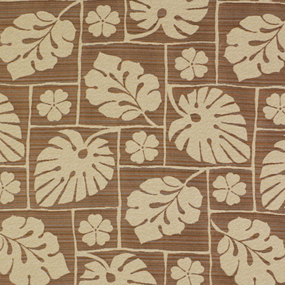 WOVENS Maylea Garden Fabric - Walnut