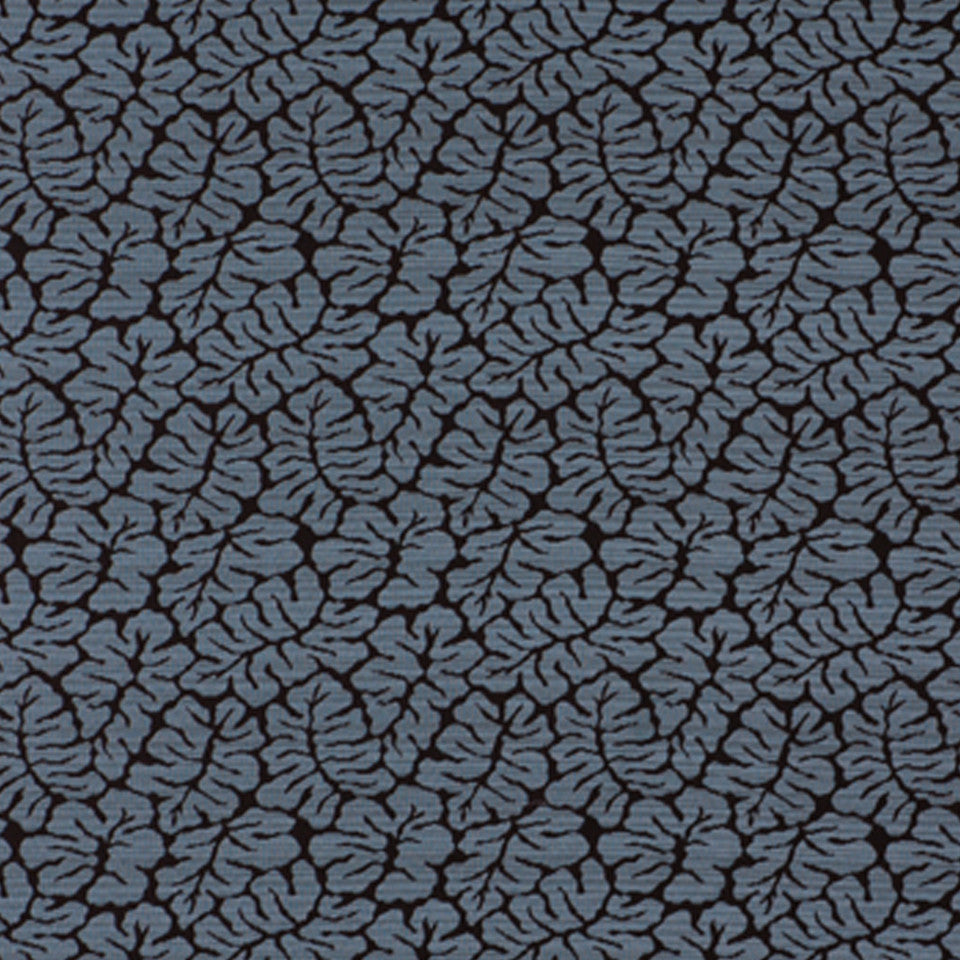 WOVENS Fossil Leaf Fabric - Abyss