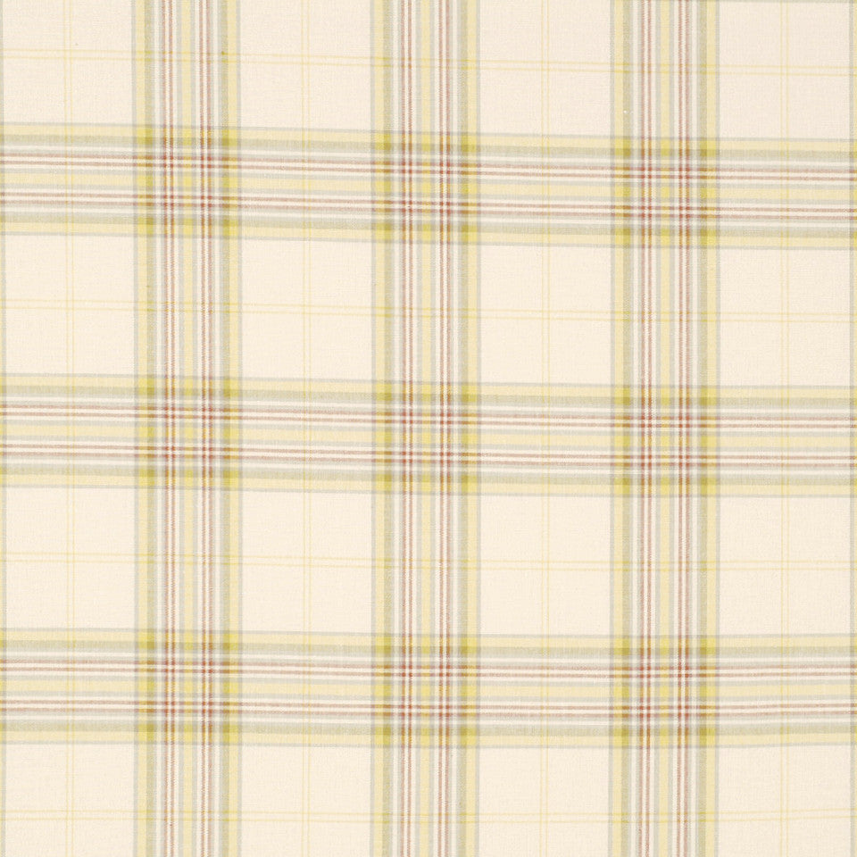 POINT JUDITH Fisher Plaid Fabric - Natural