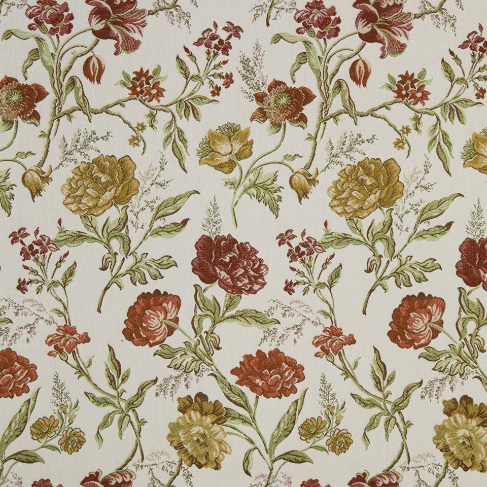 SAFFRON Casilda Bay Fabric - Hibiscus
