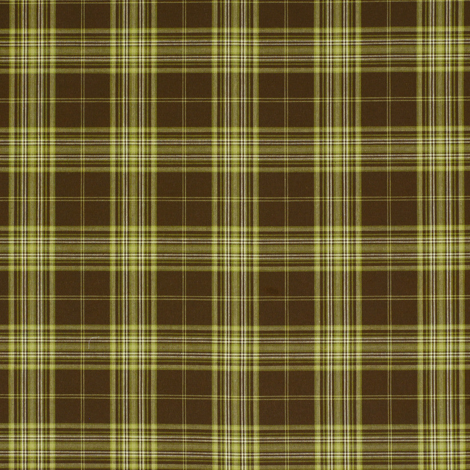 POINT JUDITH Fisher Plaid Fabric - Acorn