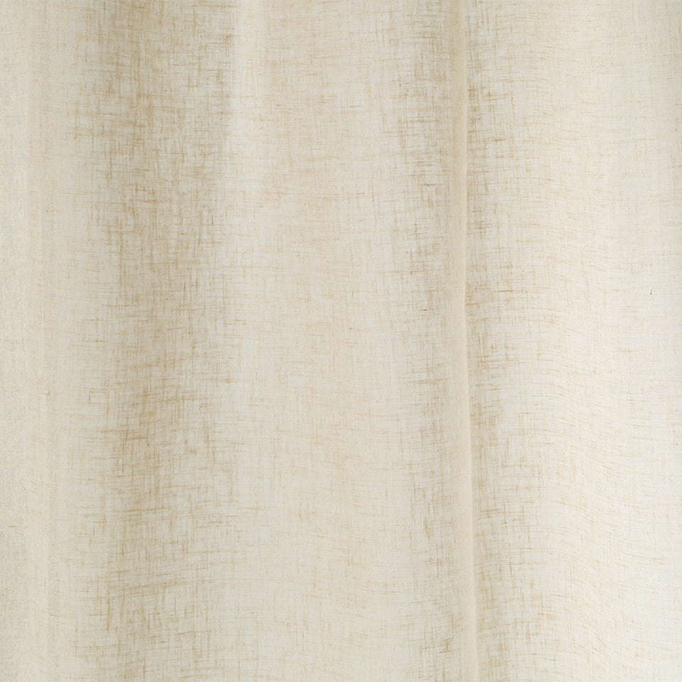 Matte Sheers Alonso Fabric - Flax