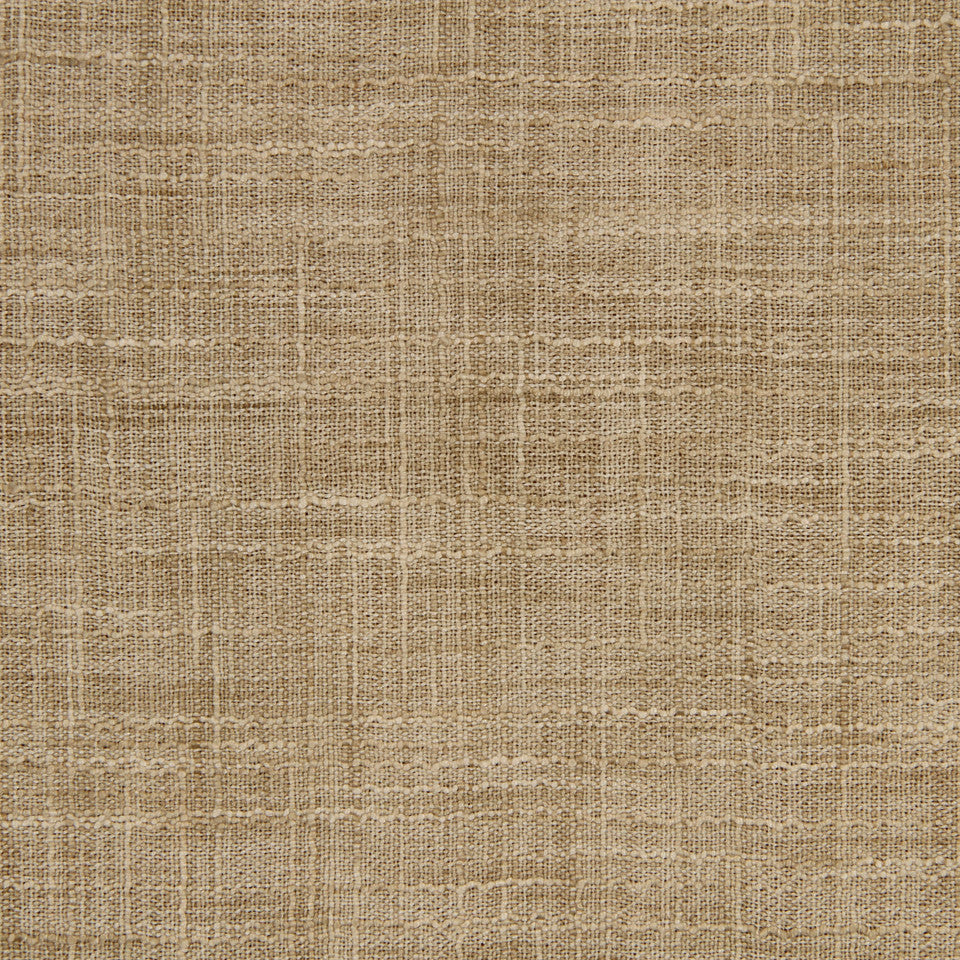 DRAPEABLE LINEN LOOKS Korinthos Fabric - Hemp