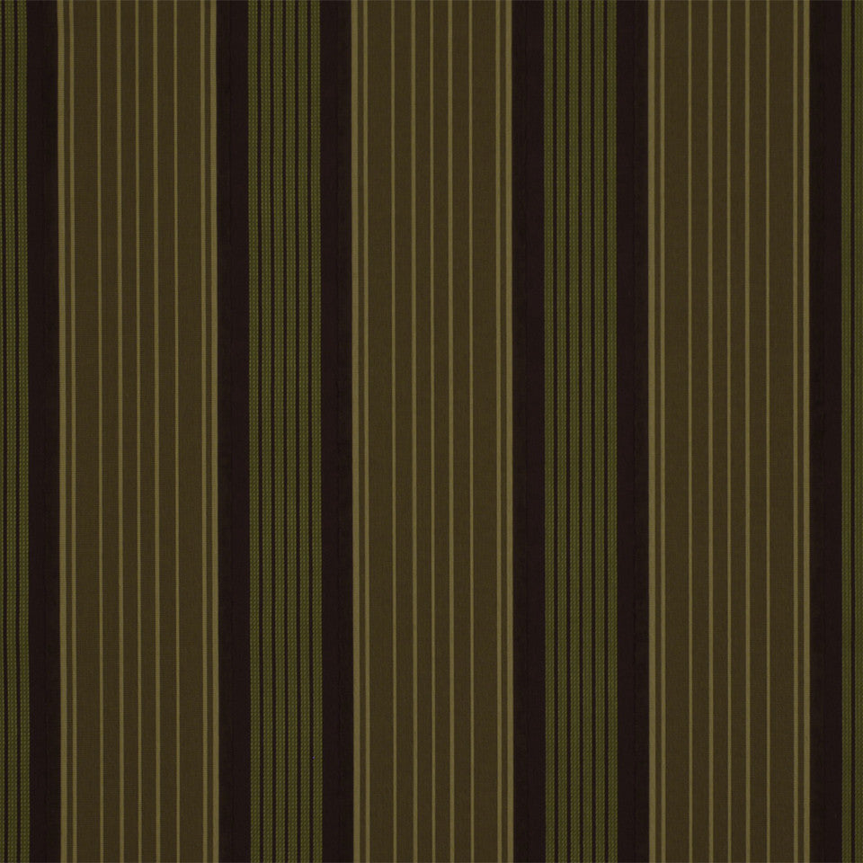 LA CAMPAGNE Vanessa Stripe Fabric - Bay Leaf