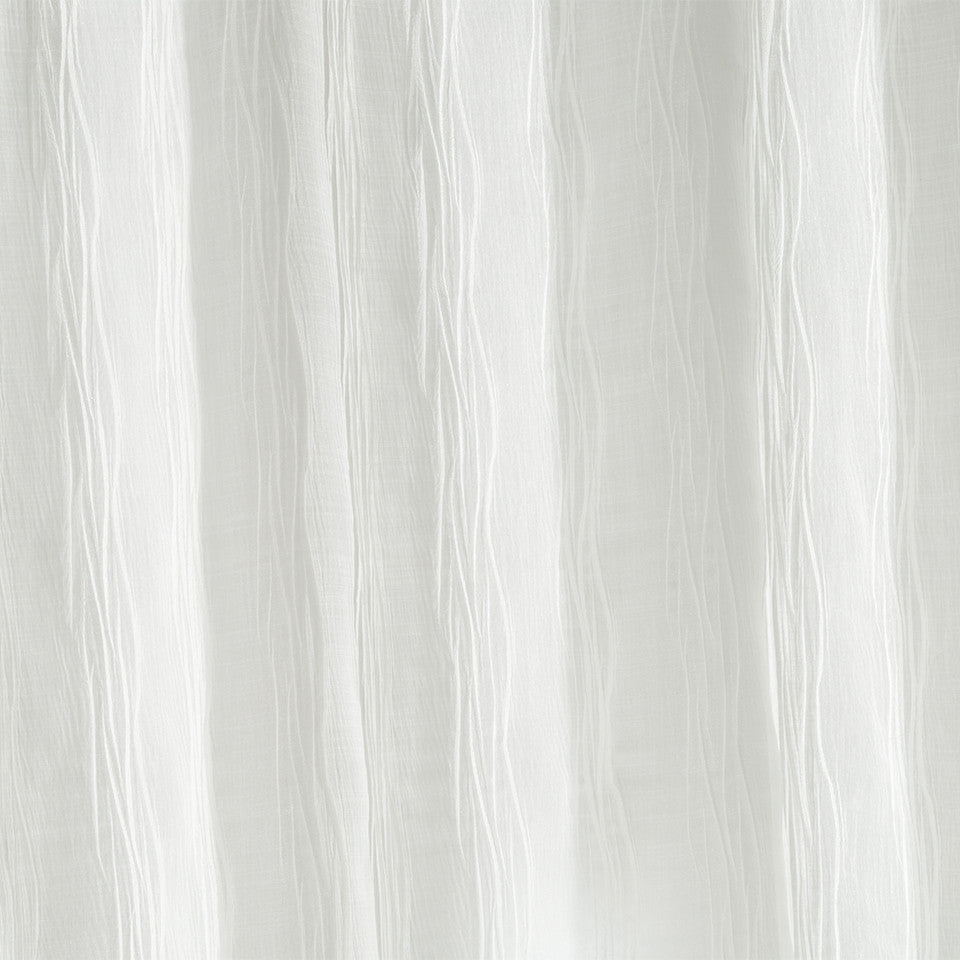 Matte Sheers Kent Hill Fabric - Snow