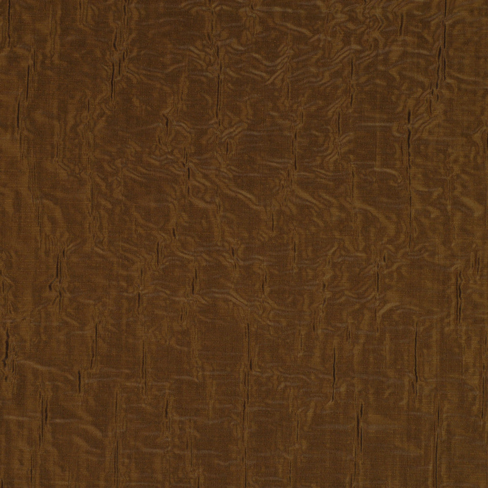 WHEAT-PECAN-BARLEY Minnow Brook Fabric - Chocolate